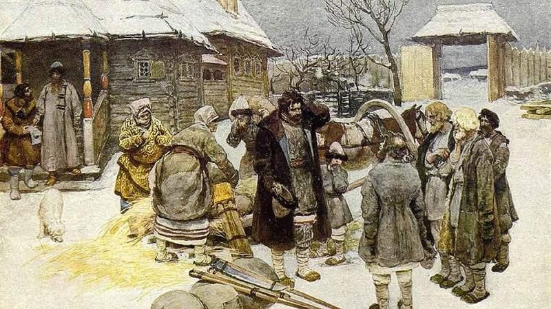 Положение крестьян 16 веке