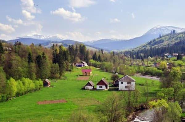 Лазещина, Закарпатская область