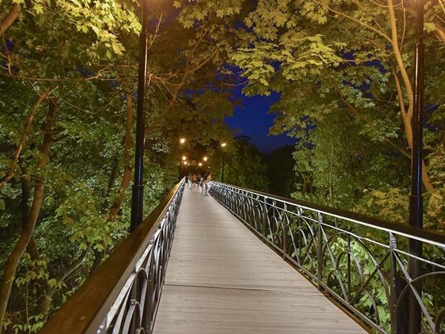 Парковый мост (Мост влюбленных), Киев