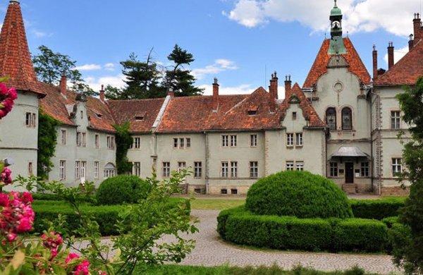 Дворец Шенборнов, Карпаты, Закарпатская область