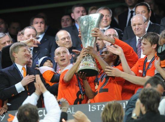 Шахтер выиграл кубок УЕФА