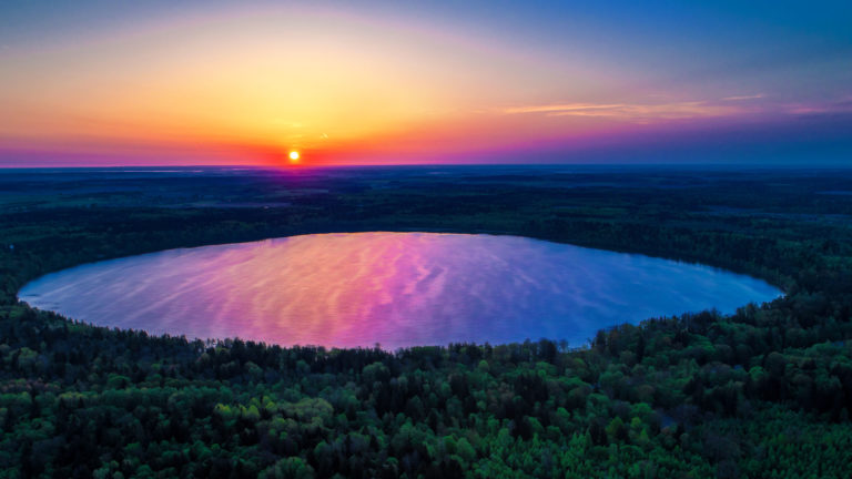 Озеро Свитязь, Волынская область
