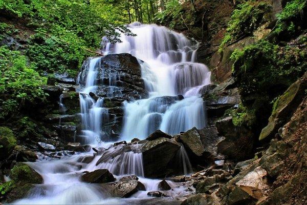 Водопад Шипот, Закарпатская область