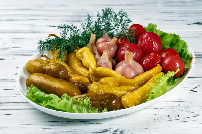Соленья - 12 постных блюд