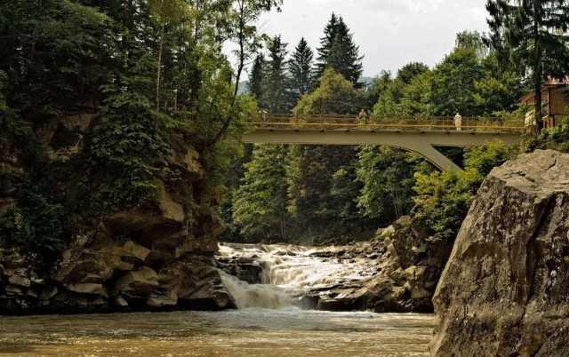 Пробий Водопад, Яремче, Ивано-Франковская область