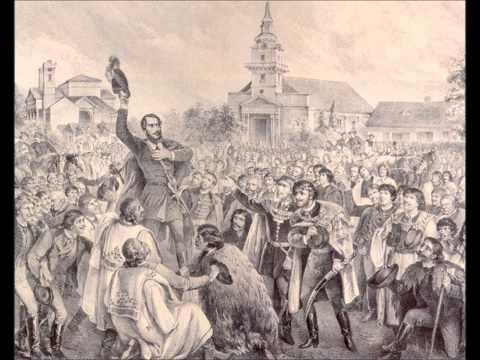 Революция 1848 года, охватившая Австрийскую империю