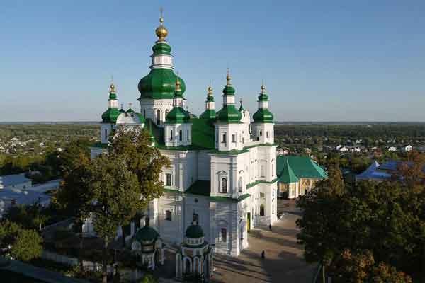 Черниговский Успенский Елецкий монастырь