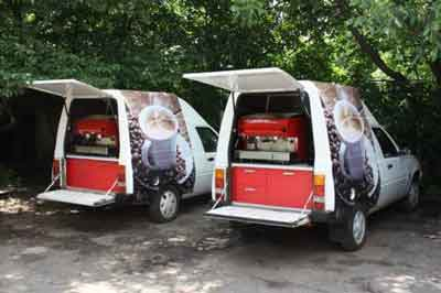 Кофейные машины рядом с Дюком де Ришелье