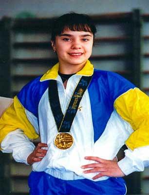 Олимпийская чемпионка Лилия Подкопаева