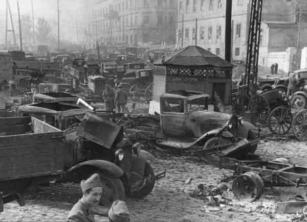 Нацистская оккупация Советской Украины