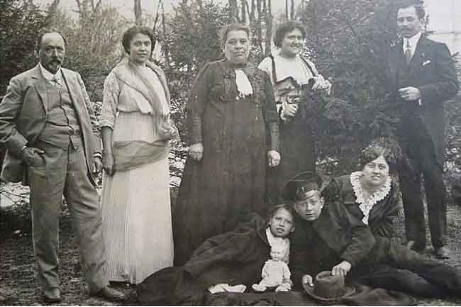 Павел Харитоненко с семьей