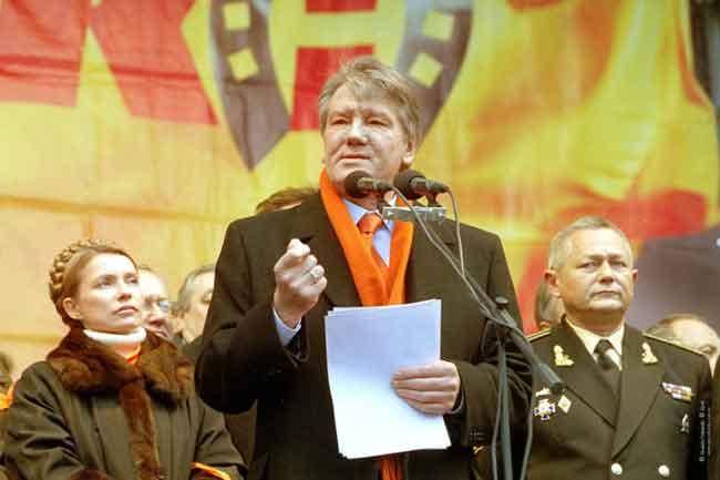 Оранжевая революция и Ющенко