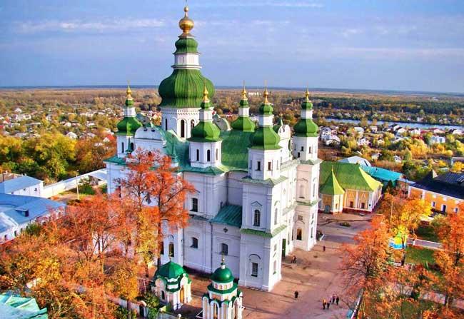 церковь в Чернигове
