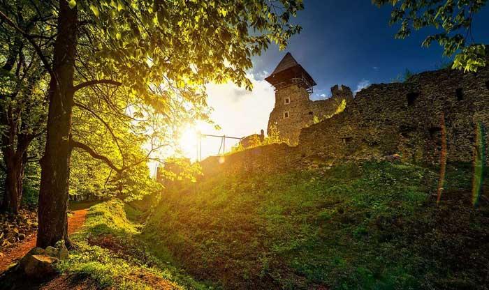 Украинский Невицкий замок