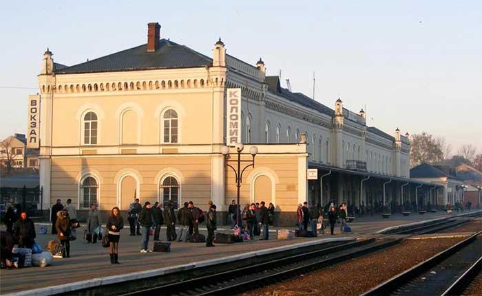 жд вокзал Коломыи