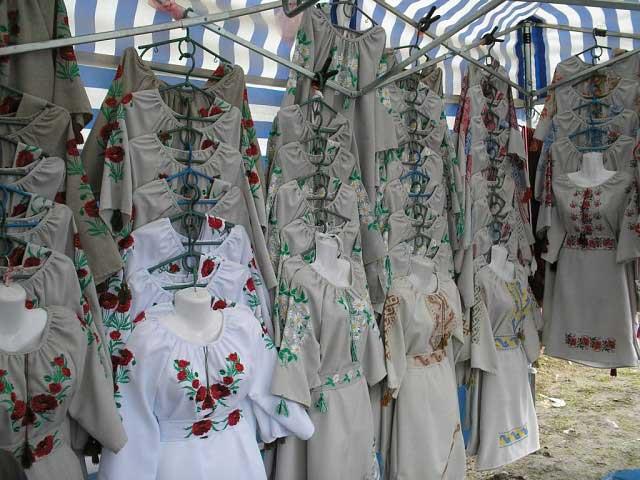 Рынок Вышиванки в Коломыи