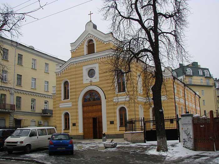 Немецкая Евангелическо-лютеранская церковь Святой Екатерины, Киев
