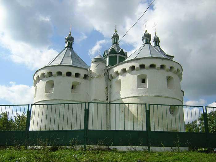 Церковь Покрова Пресвятой Богородицы, Сутковцы